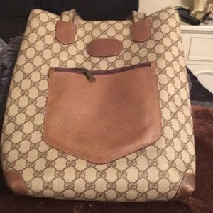 A Vintage Authentic Gucci Tote